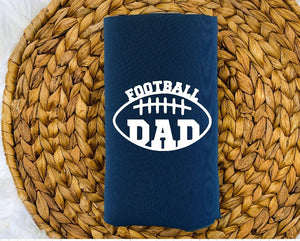 Insulated Can Holder - Football Dad - thegiftkornershop