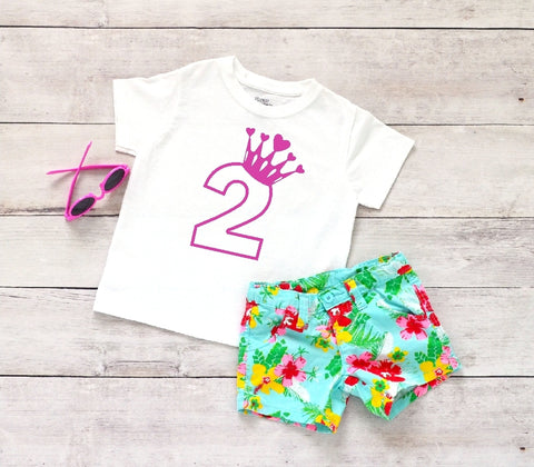 Toddler Softstyle Tee - 2 (2nd Birthday) - thegiftkornershop