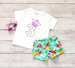 Toddler Softstyle Tee - 3 (3rd Birthday) - thegiftkornershop