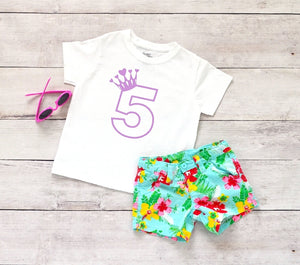 Toddler Softstyle Tee - 5 (5th Birthday) - thegiftkornershop