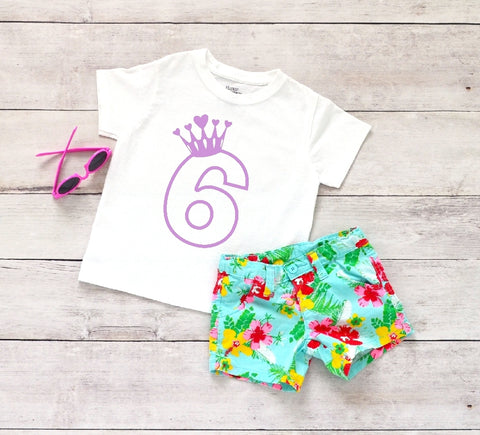 Toddler Softstyle Tee - 6 (6th Birthday) - thegiftkornershop