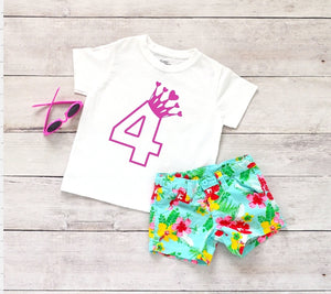 Toddler Softstyle Tee - 4 (4th Birthday) - thegiftkornershop