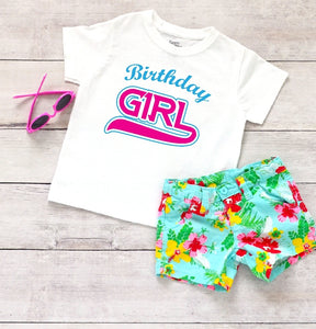 Toddler Softstyle Tee - Birthday Girl - thegiftkornershop