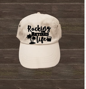 Low-Profile Hat - Rocking The Retired Life - thegiftkornershop