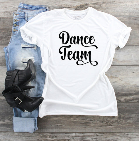 T-Shirt - Dance Team - thegiftkornershop