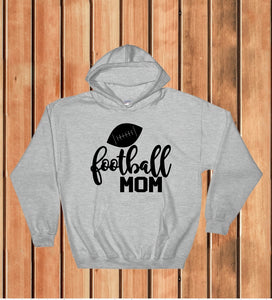 Hooded Sweatshirt - Football Mom - thegiftkornershop