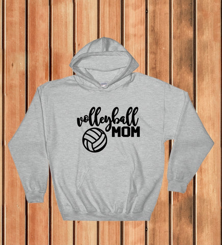 Hooded Sweatshirt - Volleyball Mom - thegiftkornershop