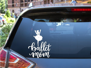 Car Window Decal - Ballet Mom - thegiftkornershop