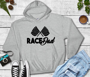 Hooded Sweatshirt - Race Dad - thegiftkornershop