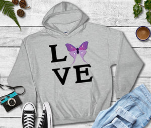 Hooded Sweatshirt - LOVE - thegiftkornershop