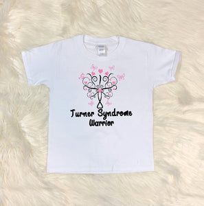Toddler Softstyle Tee - Turner Syndrome Warrior - thegiftkornershop