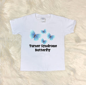 Toddler Softstyle Tee - Turner Syndrome Butterfly - thegiftkornershop