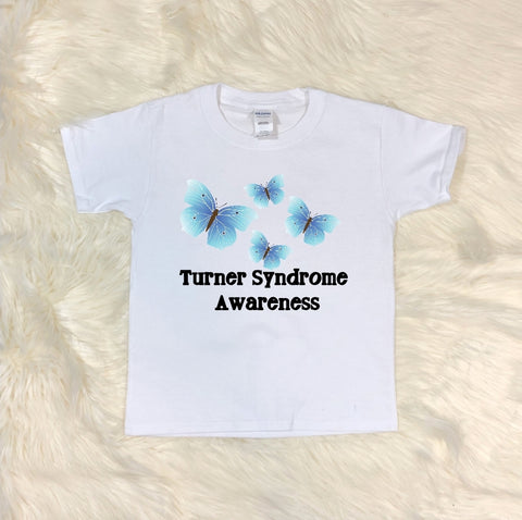 Youth T-Shirt - Turner Sydrome Awareness - thegiftkornershop