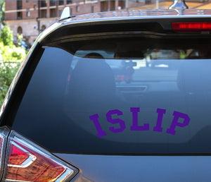 Car Window Decal - Islip - thegiftkornershop