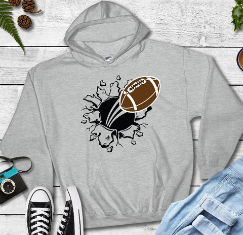 Hooded Sweatshirt - Football - thegiftkornershop