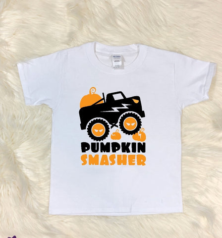 Youth T-Shirt - Pumpkin Smasher - thegiftkornershop