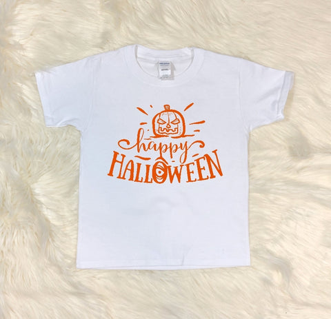 Youth T-Shirt - Happy Halloween - thegiftkornershop