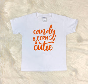 Youth T-Shirt - Candy Corn Cutie - thegiftkornershop