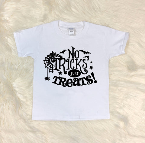 Youth T-Shirt - No Tricks Just Treats - thegiftkornershop