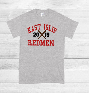 T-Shirt - East Islip Redmen 2019 (Baseball, Softball) - thegiftkornershop
