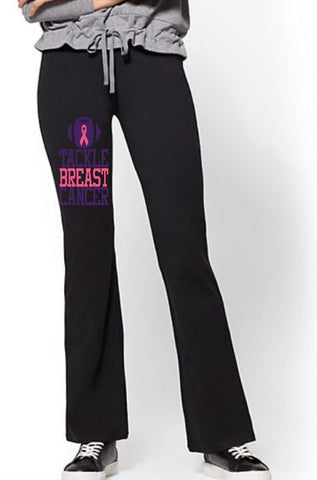 Yoga Pants - Tackle Breast Cancer - thegiftkornershop