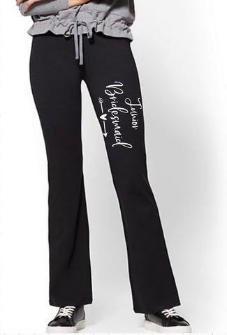 Yoga Pants - Junior Bridesmaid - thegiftkornershop