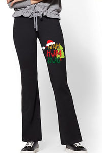 Yoga Pants - Bah Hum Bug - thegiftkornershop