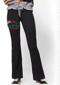 Yoga Pants - Dear Santa I Really Tried - thegiftkornershop
