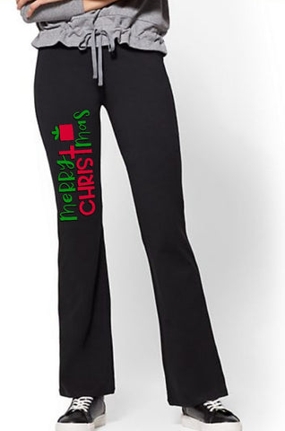 Yoga Pants - Merry Christmas - thegiftkornershop