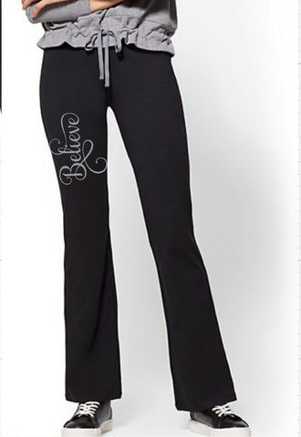 Yoga Pants - Believe - thegiftkornershop