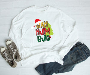 Long Sleeve Shirt - Bah Hum Bug - thegiftkornershop
