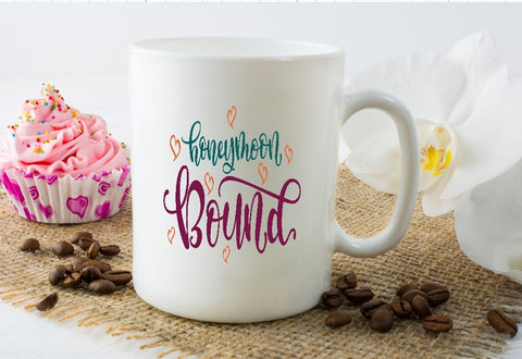 Mug 15oz. - Honeymoon Bound - thegiftkornershop