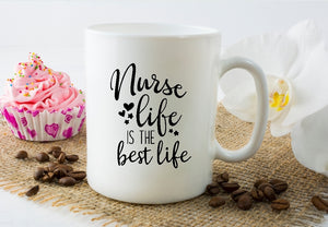 Mug 15oz. - Nurse Life Is The Best Life - thegiftkornershop