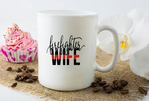 Mug 15oz. - Firefighter Wife - thegiftkornershop