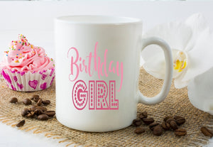 Mug 15oz. - Birthday Girl - thegiftkornershop