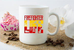 Mug 15oz. - Firefighter Life
