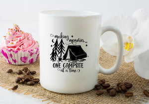 Mug 15oz. - Making Memories One Campsite At A Time