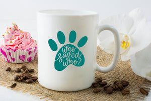 Mug 15oz. - Who Saved Who
