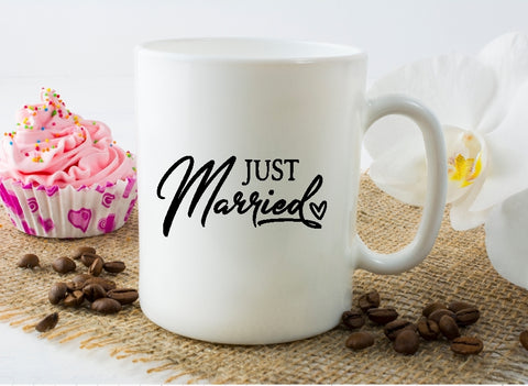 Mug 15oz. - Just Married