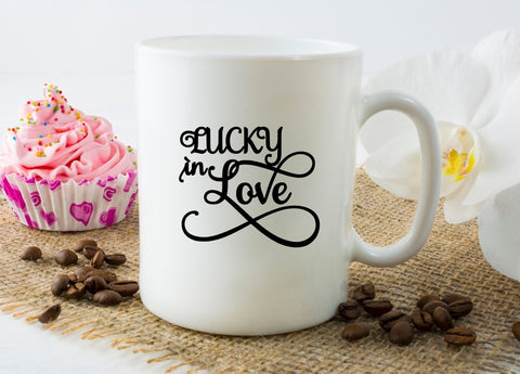 Mug 15oz. - Lucky In Love