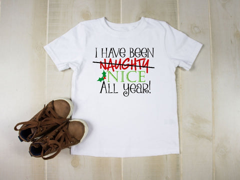 Toddler Softstyle Tee - I Have Been Naughty Nice All Year