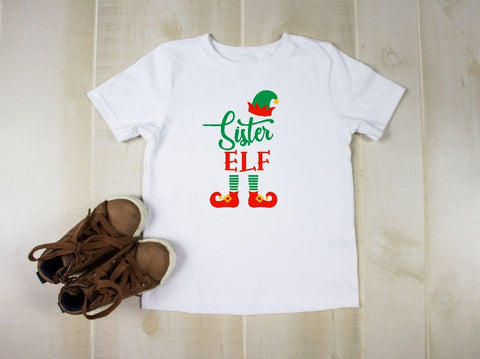 Toddler Softstyle Tee - Sister Elf
