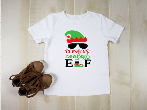 Youth T-Shirt -Santa's Coolost Elf