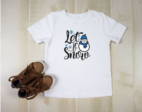 Youth T-Shirt - Let It Snow