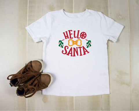 Toddler Softstyle Tee - Hello Santa