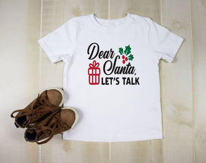 Toddler Softstyle Tee - Dear Santa Let's Talk