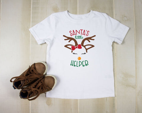 Toddler Softstyle Tee - Santa's Little Helper
