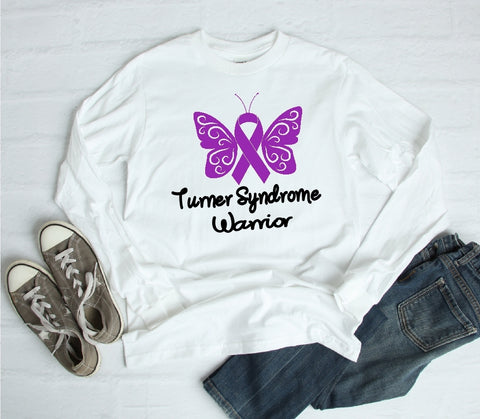 Long Sleeve Shirt - Turner Syndrome Warrior