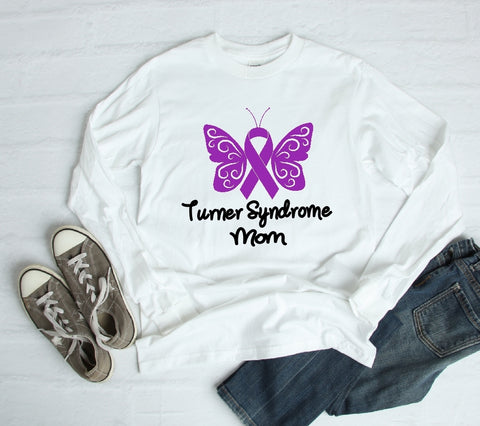 Long Sleeve Shirt - Turner Syndrome Mom