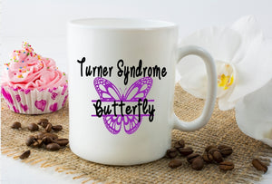 Mug 15oz. - Turner Syndrome Butterfly